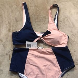 NWT 2-piece bathing suit